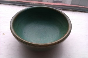My bowl!  Look at how cute it is!